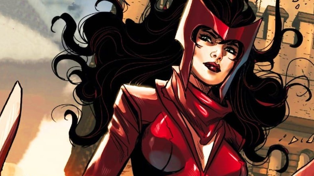 The current Scarlet Witch
