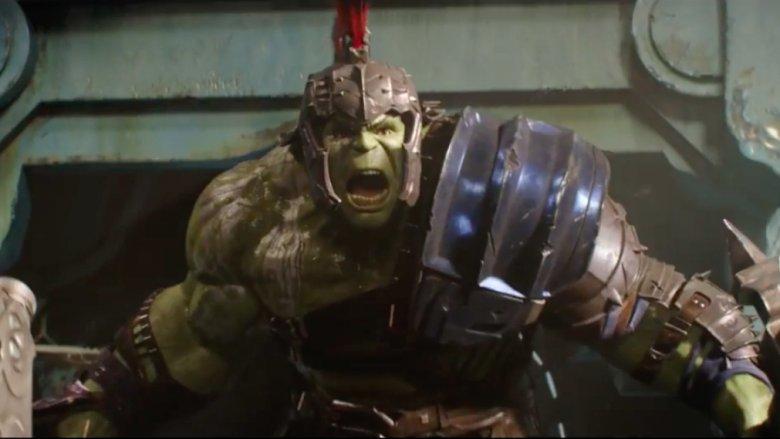 Scene from Thor: Ragnarok