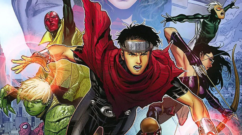 Young Avengers by Jim Cheung