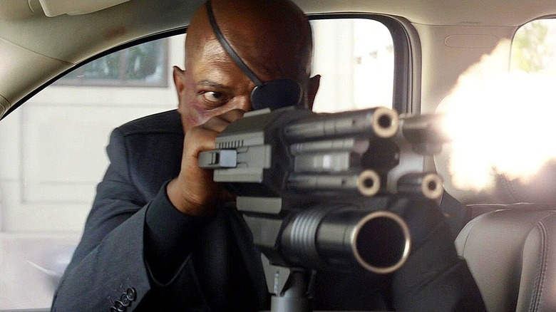 Samuel L. Jackson in Captain America: The Winter Soldier