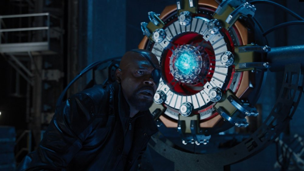 Samuel L. Jackson in The Avengers