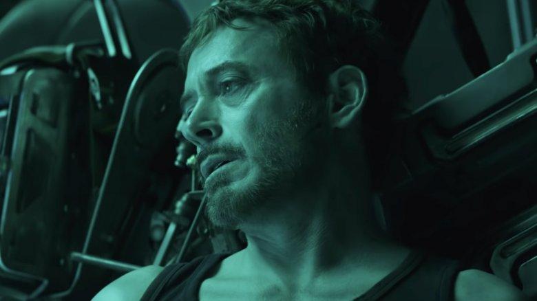 Tony Stark Robert Downey Jr. Avengers Endgame