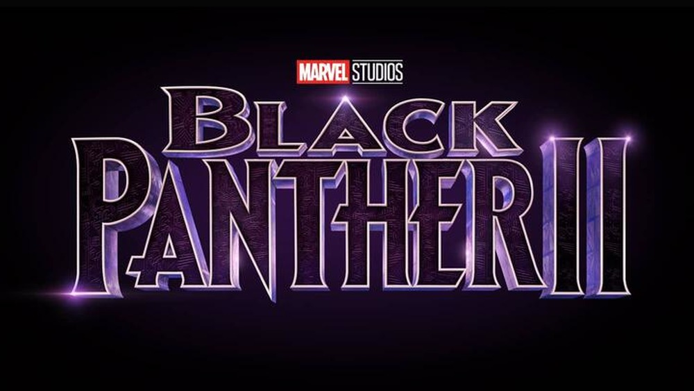 Black Panther 2 logo Marvel