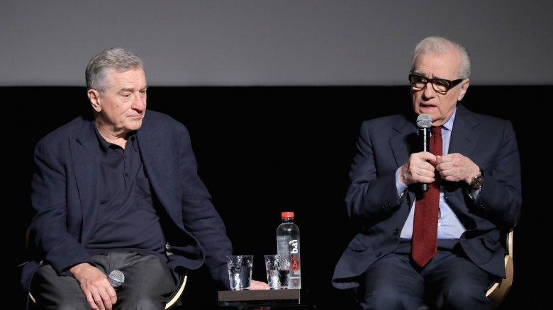 Robert De Niro and Martin Scorsese