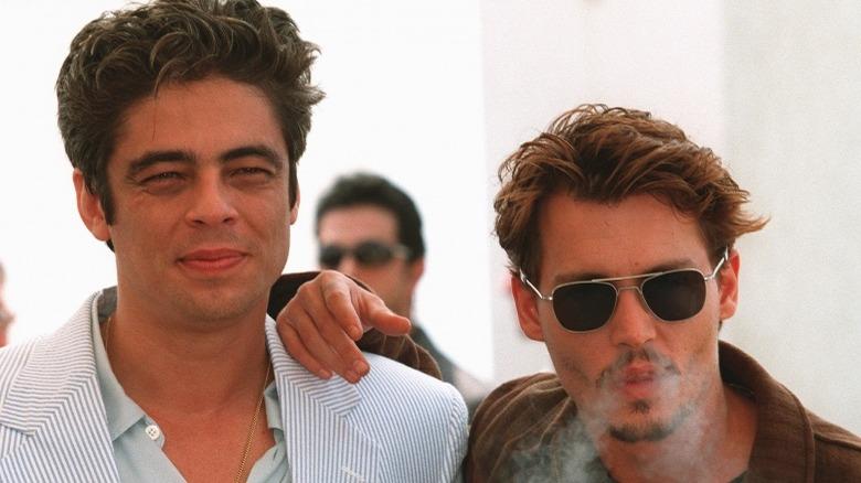Benicio del Toro and Johnny Depp