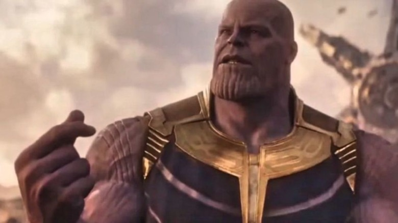 Snap-feliz Thanos
