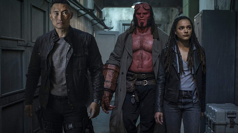 Hellboy with Ben and Alice