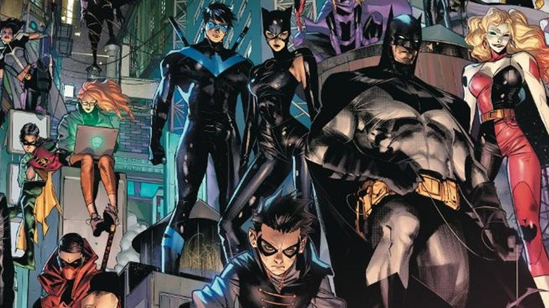 Batman and company
