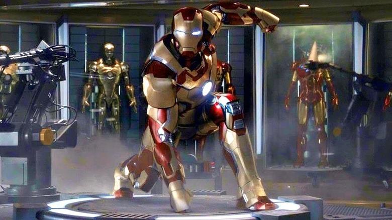 Iron Man posed