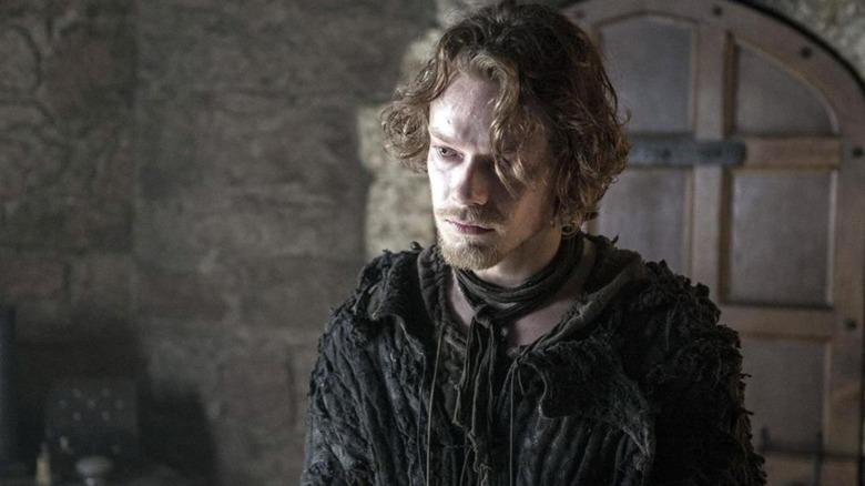 A tortured Theon Greyjoy.