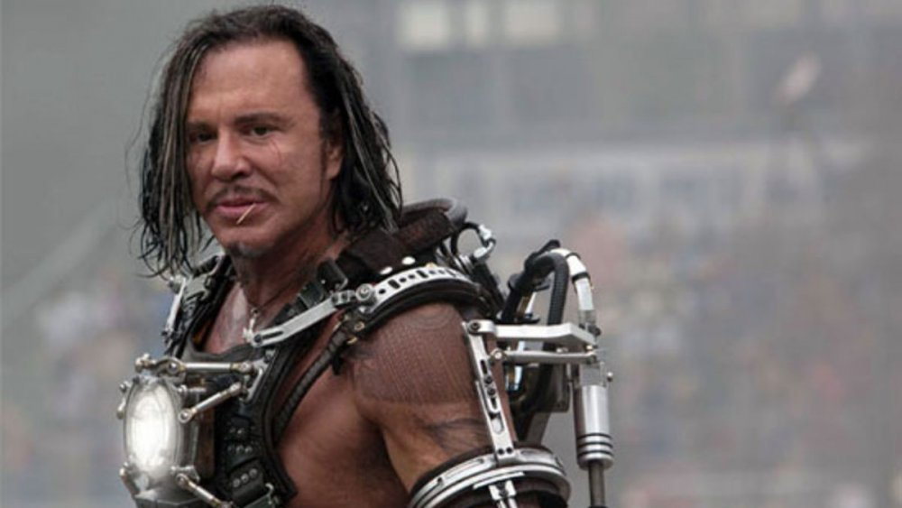 Mickey Rourke in Iron Man 2