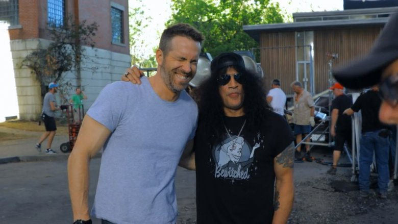 Ryan Reynolds and Slash