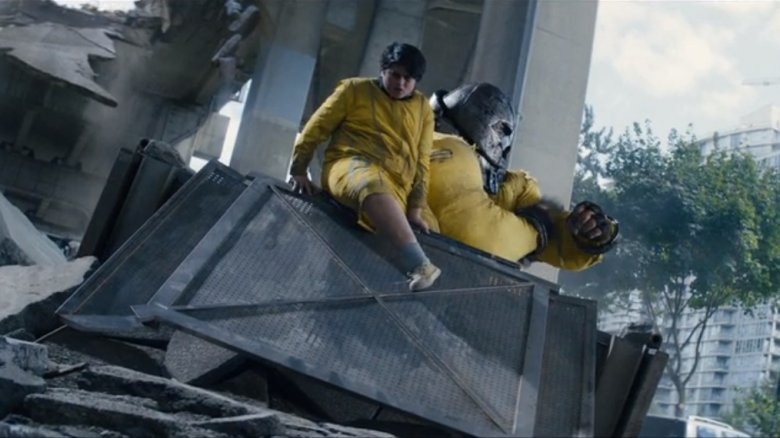 Julian Dennison as Firefist and Juggernaut in Deadpool 2