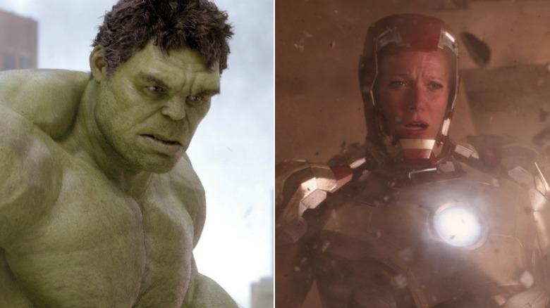 Hulk Rescue Pepper Potts Avengers Endgame