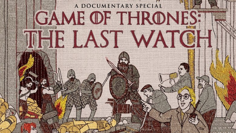 Game of Thrones: The Last Watch title card