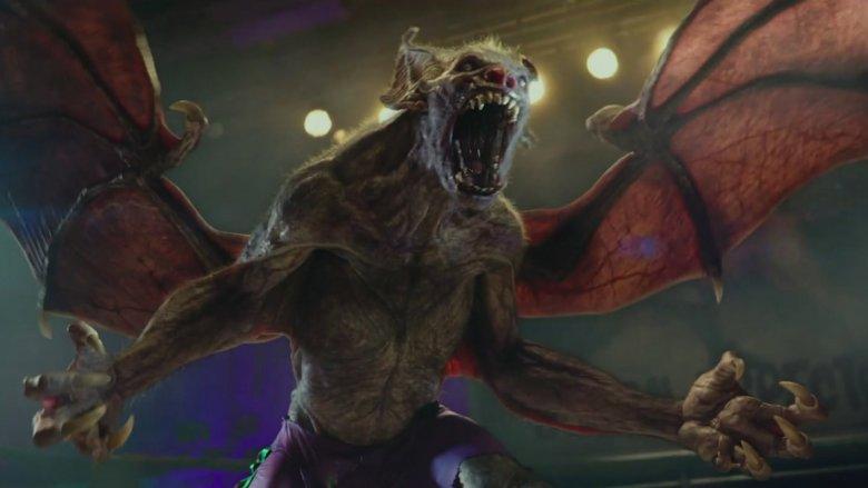 Bat creature in Hellboy