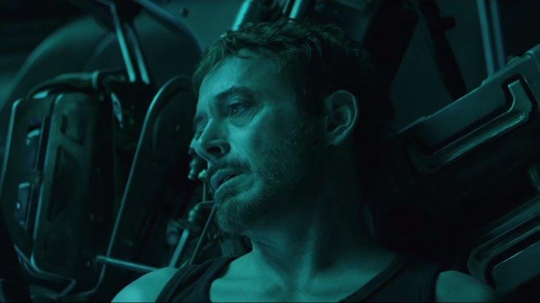 Robert Downey Jr as Tony Stark/Iron Man in Avengers Endgame