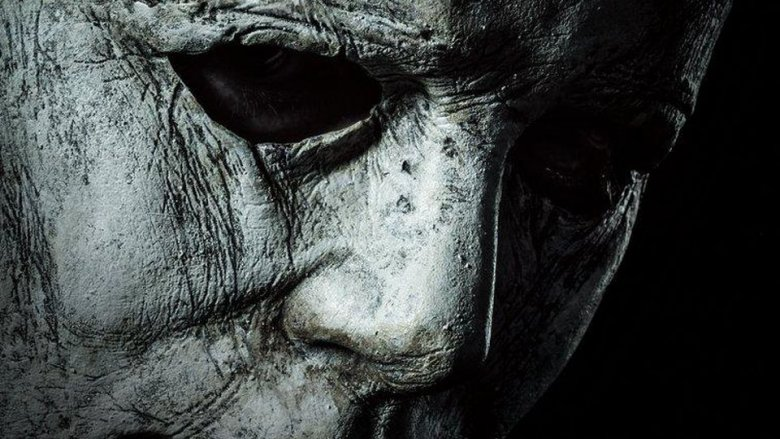 Nick Castle as Michael Myers on Blumhouse's Halloween 2018 poster
