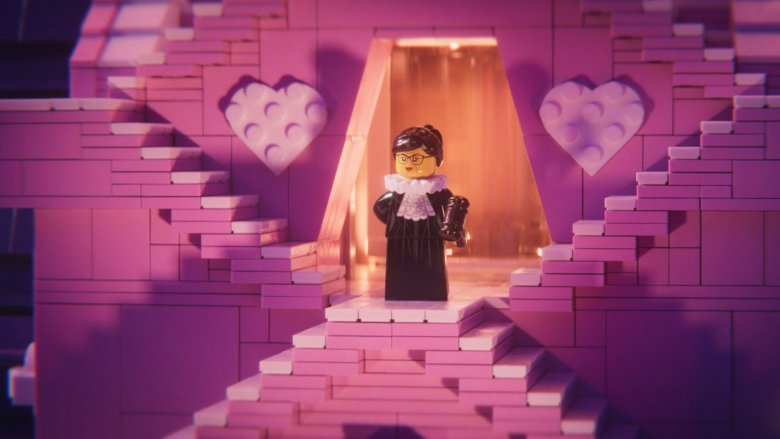 RBG in The LEGO Movie 2