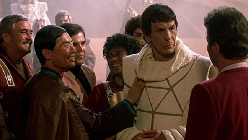 Leonard Nimoy as Spock in Star Trek III: The Search for Spock