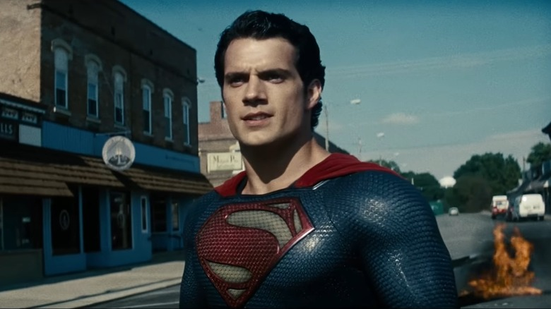 "Henry Cavill as Clark Kent/Superman in ""Man of Steel"""