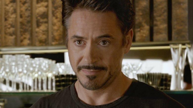 Robert Downey, Jr. as Tony Stark in Avengers