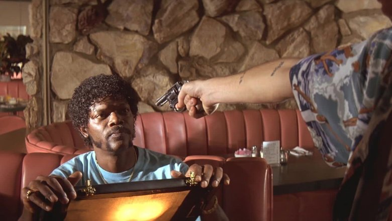 Scene from Pulp Fiction