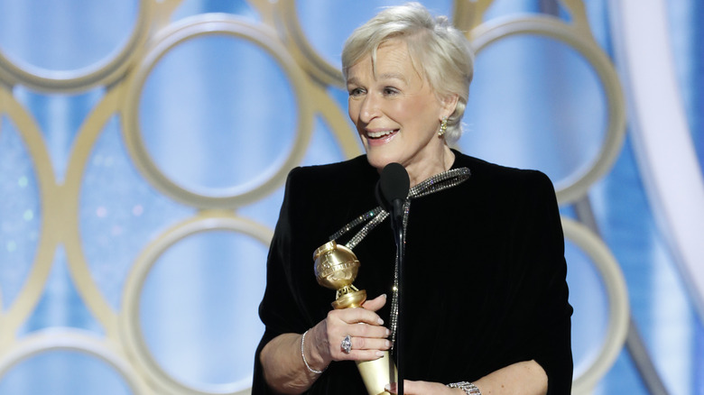 Glenn Close wins for The Wife