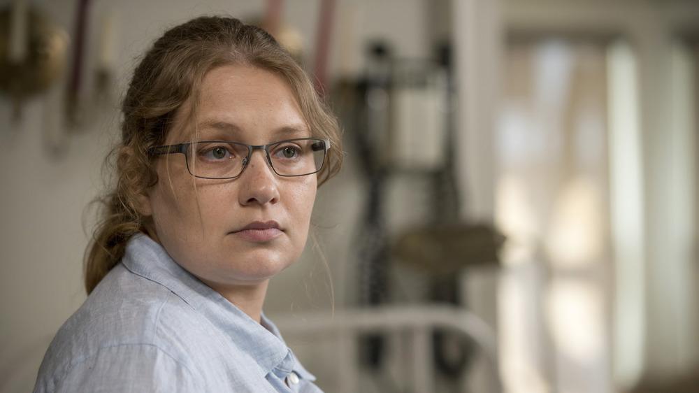 Merritt Wever as Dr. Denise Cloyd on The Walking Dead