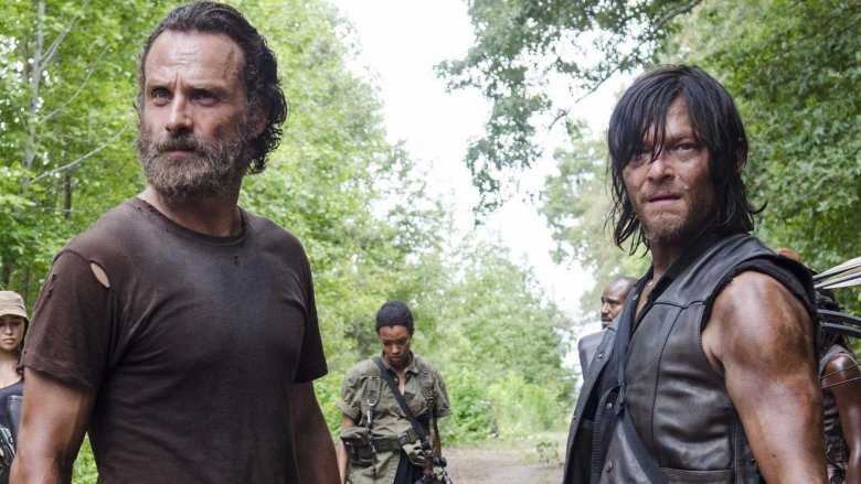 Rick and Daryl, besties