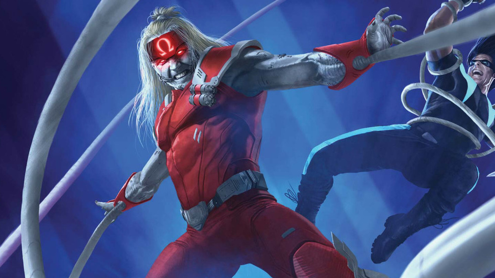 Omega Red fighting