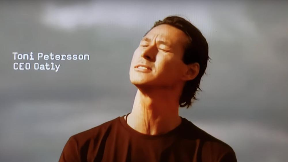 Toni Petersson Oatly ad