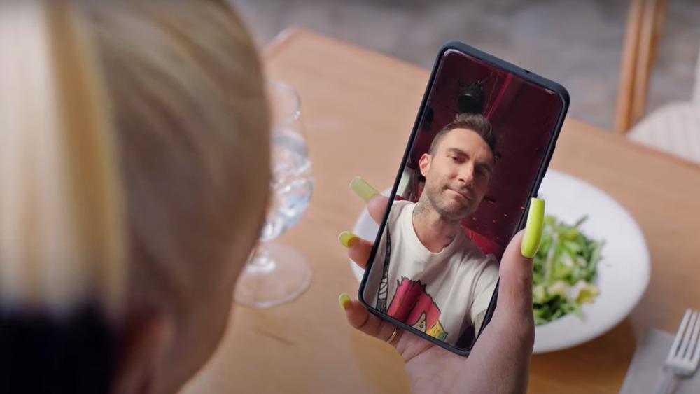Adam Levine T-Mobile ad