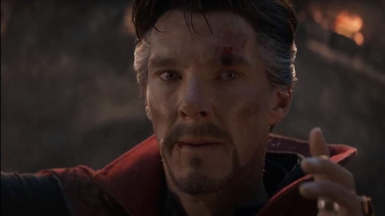 The big Doctor Strange moment that was completely improvised in Avengers: Endgame