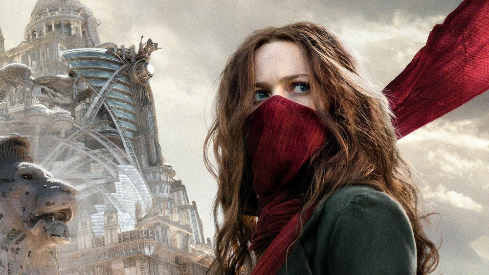 Hester Shaw red scarf