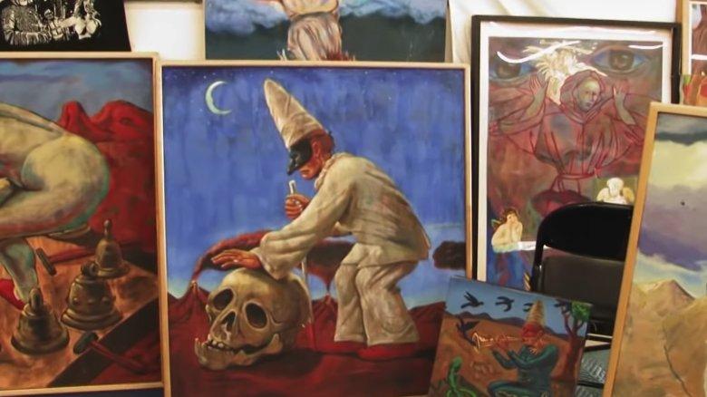 Frank Gutierrez art as seen in Storage Wars