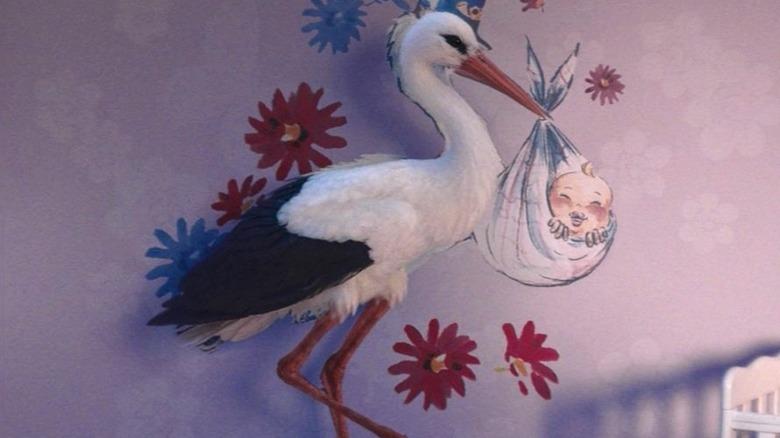 The stork in WandaVision's third episode