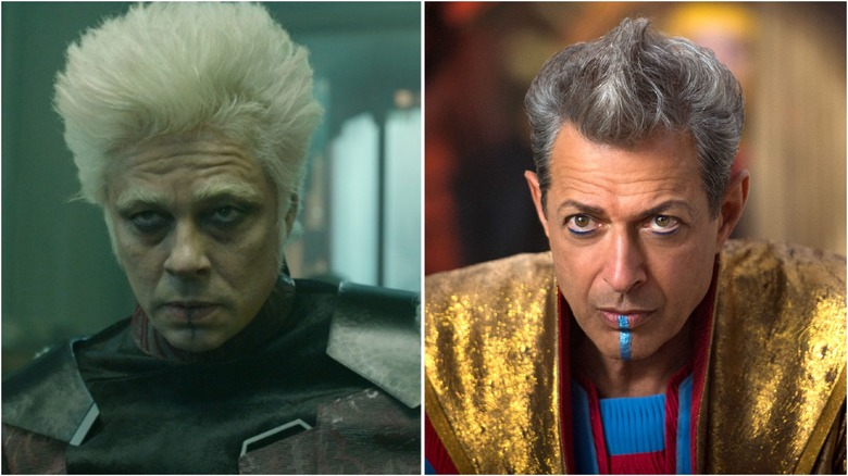 Split image of the Collector and the Grandmaster