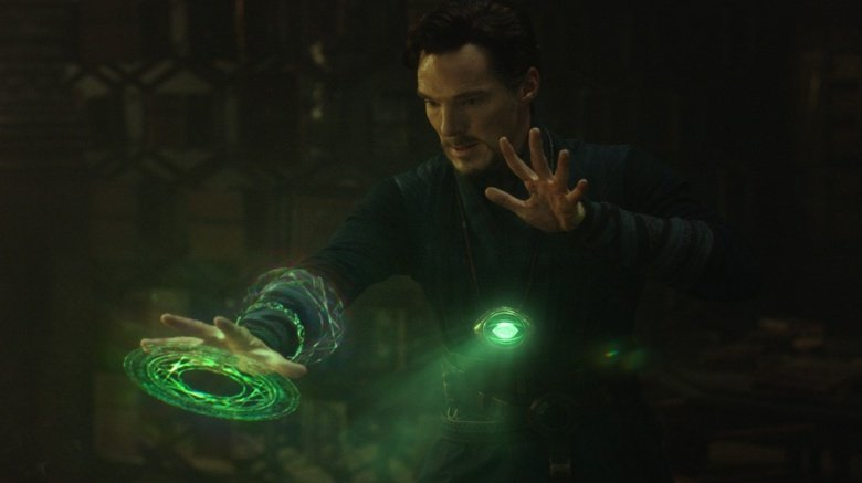 Doctor Strange with time stone