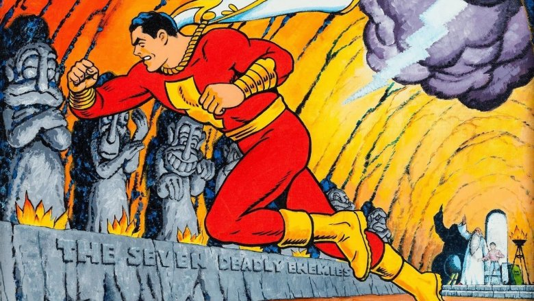 The Captain Marvel of the 1940s