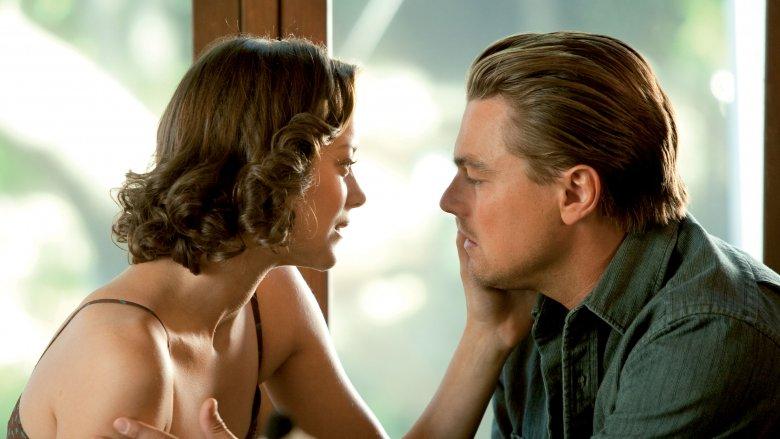 Marion Cotillard and Leonardo DiCaprio in Inception