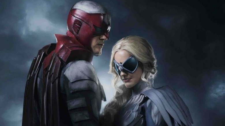 Promo shot of Hawk & Dove
