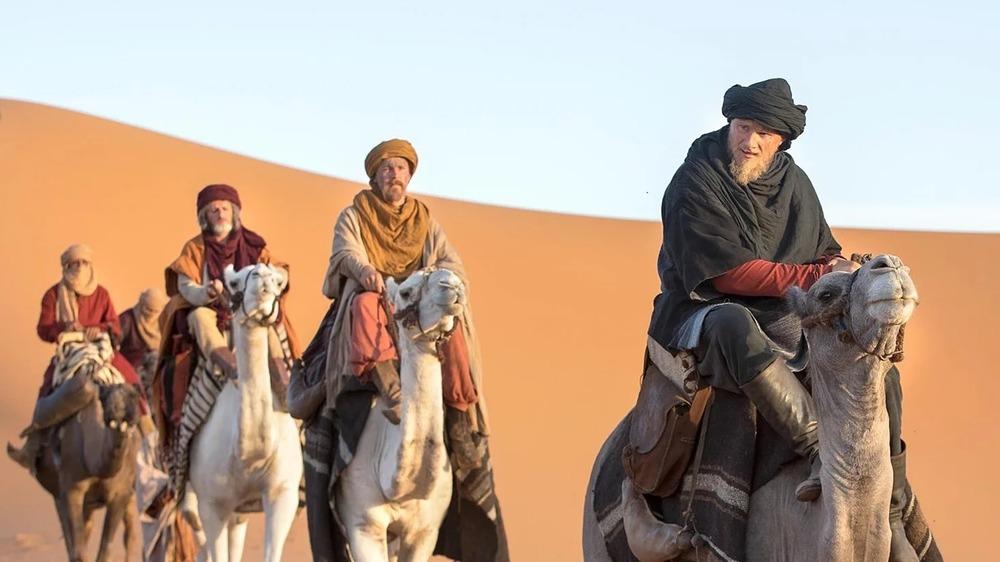 Bjorn crossing the Sahara