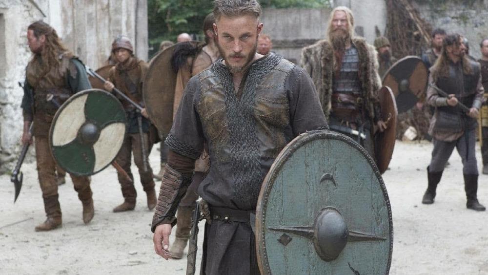 Ragnar leads the raid on Lindisfarne