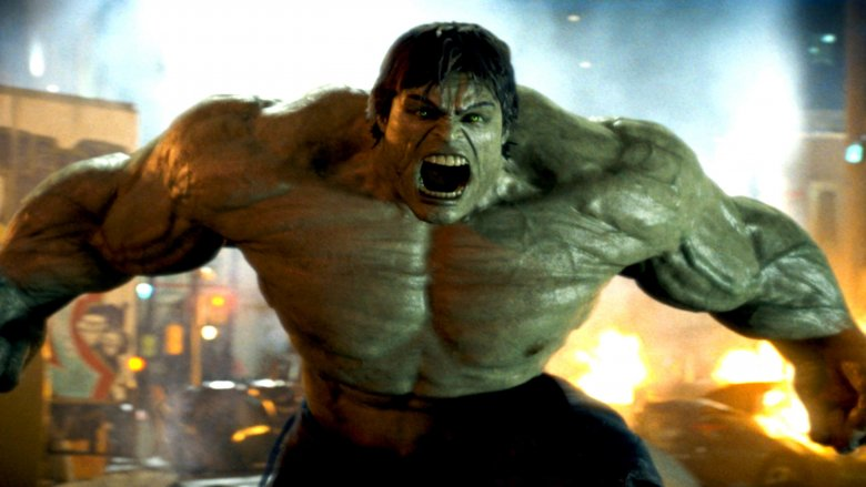 Scene from The Incredible Hulk