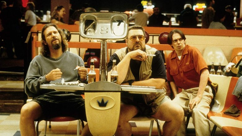 Jeff Bridges, John Goodman, and Steve Buscemi in The Big Lebowski
