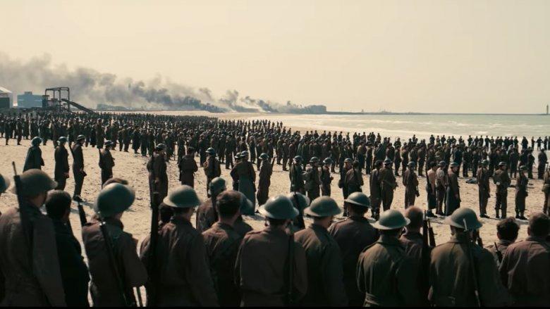 dunkirk soldiers beach