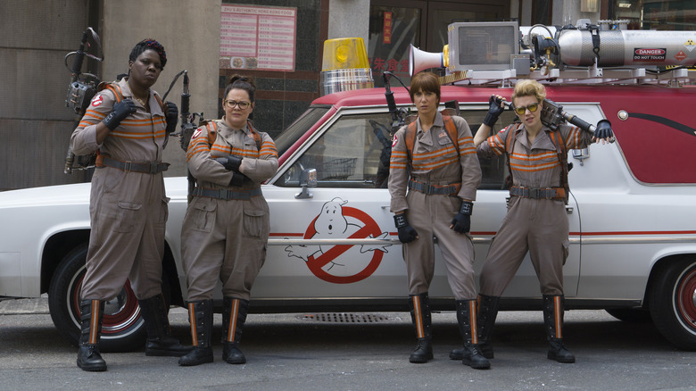 Cast of Ghostbusters 2016
