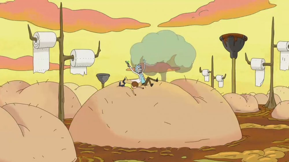 Still from Rick and Morty S01E10