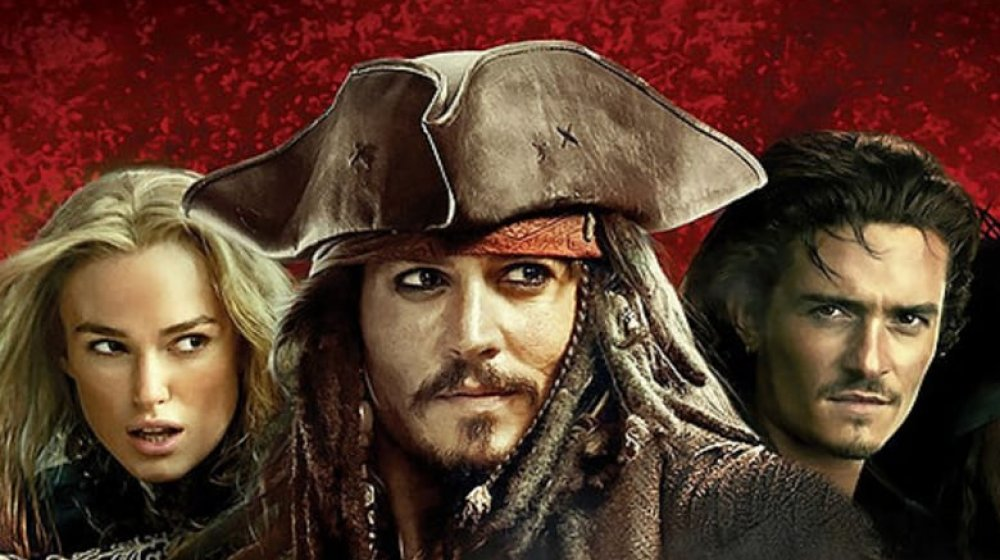 The principal leads of Pirates of the Caribbean: At World's End